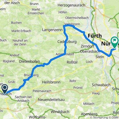 Ansbach-Nürnberg