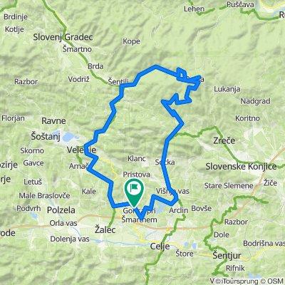 Galicija-Vitanje-Rogla-Mislinja-Velenje-Galicija
