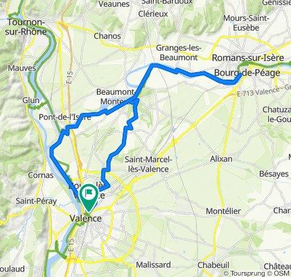 Bourg les Valence Bourg de Péage