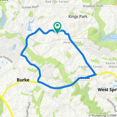5603 Mt Burnside Way, Burke to 5603 Mt Burnside Way, Burke