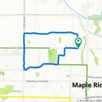 223 Street 12444, Maple Ridge to 124 Avenue 22313, Maple Ridge