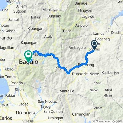 Plaridel 45, Solano to Kennon Road, Baguio