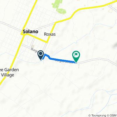 Plaridel 45, Solano to Bambang - Kasibu - Quezon - Solano Circumferential Road
