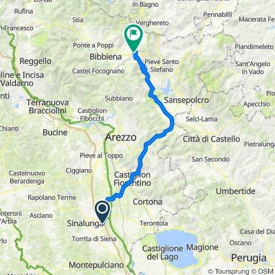 A1 Valdichiana - La Verna