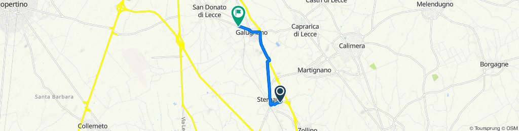 De Via Piave 94–100, Sternatia à Via San Donato 50A, San Donato di Lecce