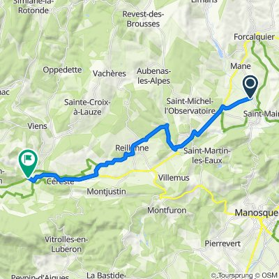 Route to D900, Saint-Martin-de-Castillon