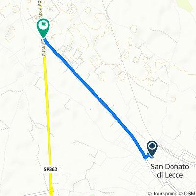 De Via Milano 36a–38, San Donato di Lecce à SP362, San Donato di Lecce