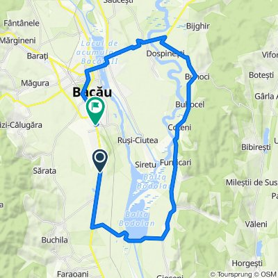 DN2 1249, Nicolae Bălcescu to Strada Chimiei 5a, Bacău