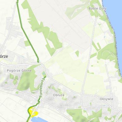 От Ikara 6/I, Gdynia до Admirała Józefa Unruga 59E, Gdynia