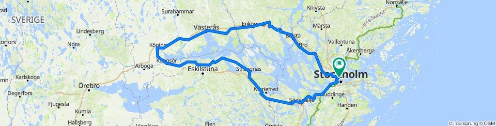 Around lake Mälaren
