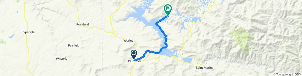 Plummer-Springston/South Anderson Lake Road