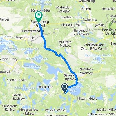 Sommerradtour 2020 (Etappe 4 : Uhyst - Spremberg)