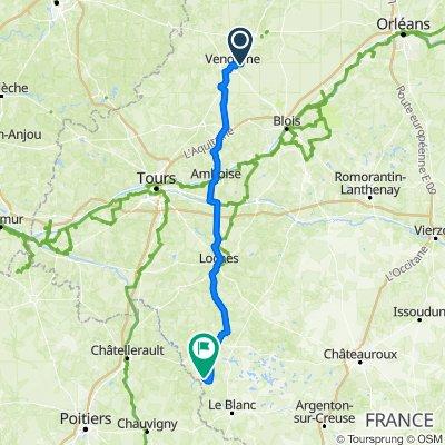 De Route de Roce 19, Areines à Place des Marronniers 1