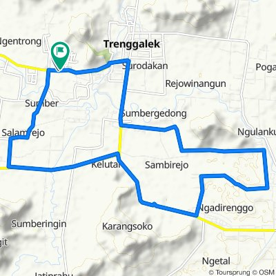 Easy ride in Kecamatan Trenggalek