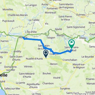 De Rue des Chênes, Ferrières à D3, Saint-Hilaire-la-Palud