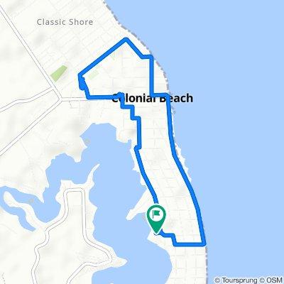 407 Wirt St, Colonial Beach to 407 Wirt St, Colonial Beach