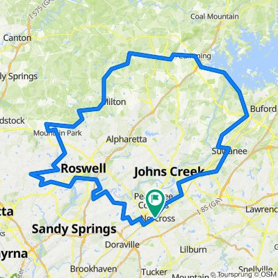 East Cobb to Buford Dam