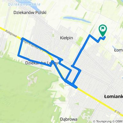 Steady ride in Łomianki Dolne