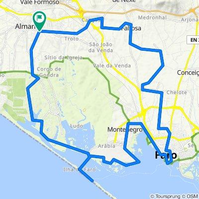 Almancil - Faro Island- Faro - Almancil