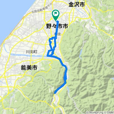 56, Taheiji 1-Chōme, Nonoichi-Shi to 56, Taheiji 1-Chōme, Nonoichi-Shi
