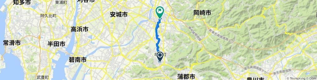 Ushiro, Kota to 1-chōme 2, Okazaki