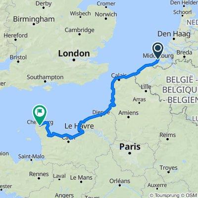 2: Middelburg bis Cherbourg