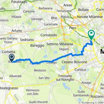 Tour veloce in Milano