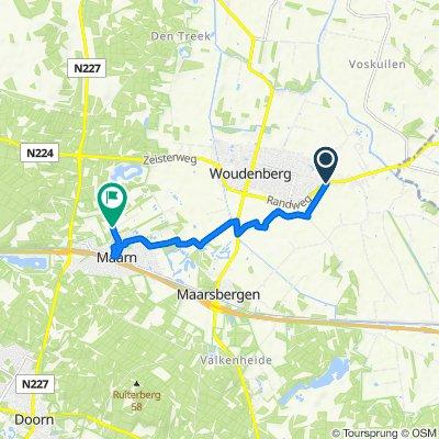 Rumelaarseweg 2, Woudenberg naar Vinkenbuurtweg, Maarn