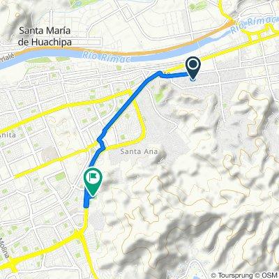 De Los Rubies, Cercado de Lima a Avenida Javier Prado Este 7700, Ate
