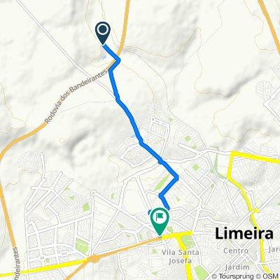 De Unnamed Road a Rua Paschoal Marmo 1052