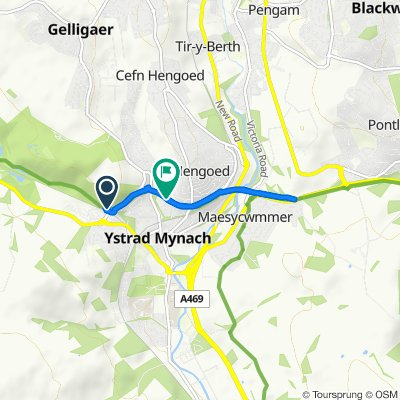 Penallta Link Road, Ystrad Mynach to The Walk 19