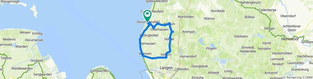 Lührentrift 30A, Wurster Nordseeküste nach Möwenweg 1, Wurster Nordseeküste