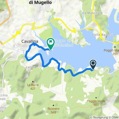 Itinéraire modéré en Barberino di Mugello