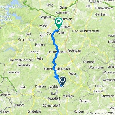 Mountainbike-Tour Bülles