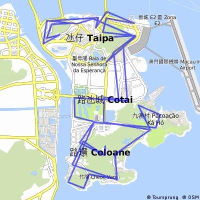 Taipa-Coloane-Tour of the Mountains