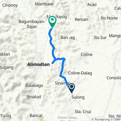 Sulong Barangay Road 5, Alimodian to Unnamed Road, Alimodian