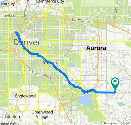 South Pagosa Street 3209, Aurora to South Pagosa Street 3209, Aurora