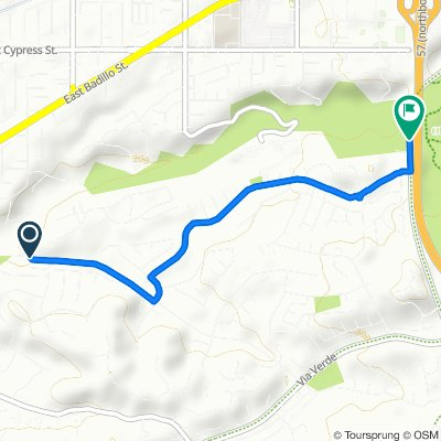 1951 E Rancho Culebra Dr, Covina to S San Dimas Ave, San Dimas