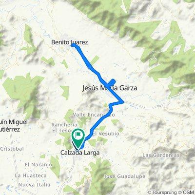 Ruta a Carretera Tuxtla Gutiérrez-Portillo Zaragoza, Villaflores