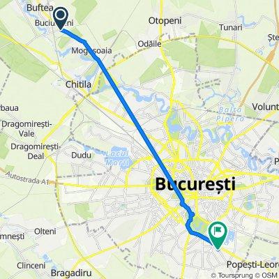Ferma Avicola, Buciumeni to Șoseaua Berceni 8, București
