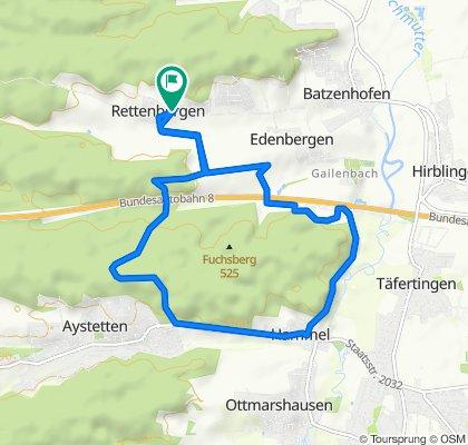 Rettenberger Straße 3, Gersthofen nach Rettenberger Straße 3, Gersthofen