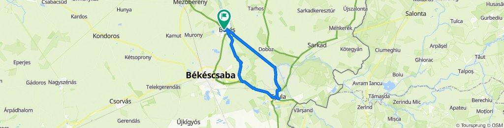 Békés - Gyula - Békés