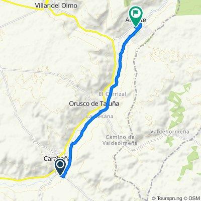 De Vias Verdes del Tajuna, Carabaña a Calle Río Tajuña 25, Ambite