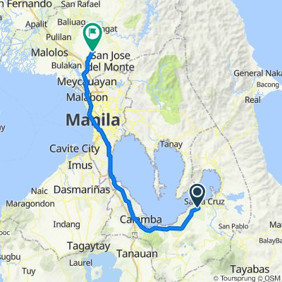 Munting Gatid, Santa Cruz to Norzagaray - Santa Maria Road #52