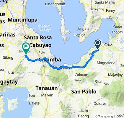 Munting Gatid, Santa Cruz to Nuvali Boulevard 3, Santa Rosa