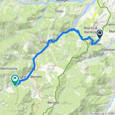 Località Fucinello 19, Terenzo nach Strada Provinciale 308 R 110, Berceto