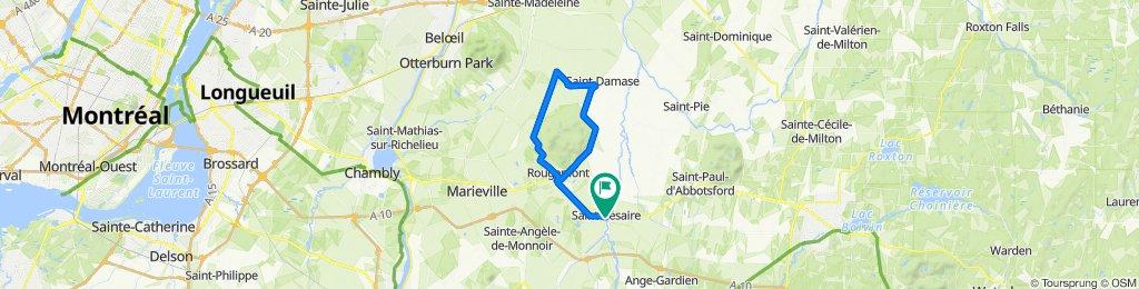 Route des cidres - Rougemont