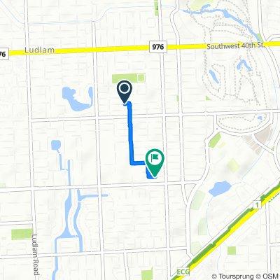 5921 SW 46th Terr, Miami to 5755 SW 55th St, Miami