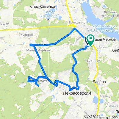От Трудовая поселок, 2, Некрасовский до 46Н-05799, Некрасовский