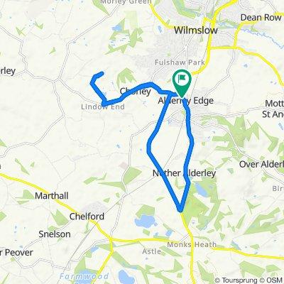 Leigh House, Brook Lane, Alderley Edge to Leigh House, Brook Lane, Alderley Edge